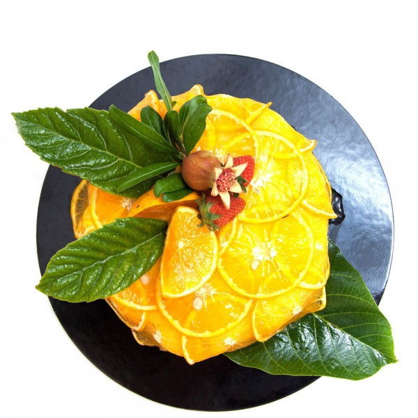 Torta all'arancia